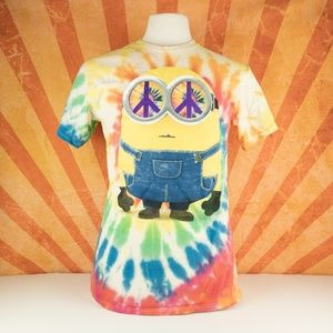 0ee6d2cda0e0 Illumination Entertainment Shirt Minions Tie Dye M